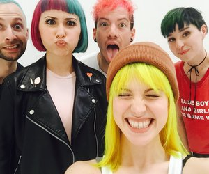 hayley williams, paramore, and josh dun image