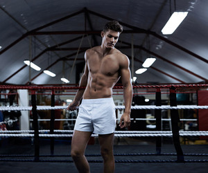 boxer and tyler maher. model image