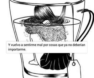 girl, frases, and woman image