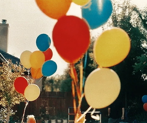 balloons, vintage, and indie image