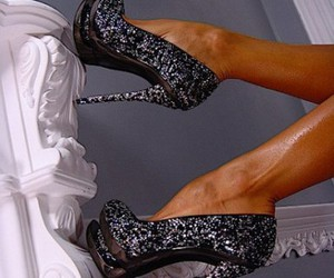 shoes, amazing, and black image