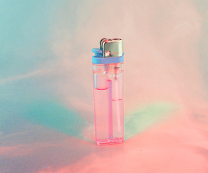 pink, lighter, and pastel image