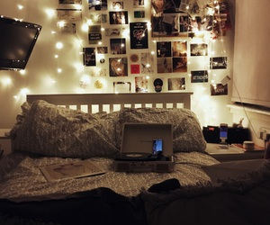lights and bedroom image