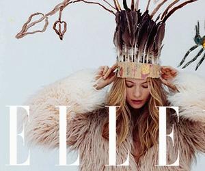angel, Behati Prinsloo, and Elle image