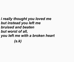 alone, black, and broken hearted image