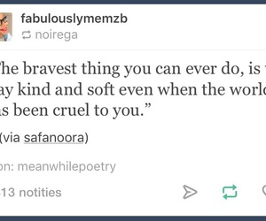 be, brave, and kind image