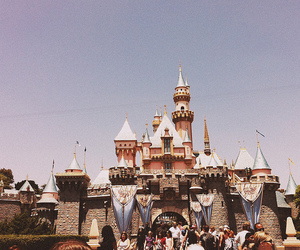 castle and disneyland image