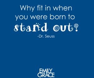be yourself, dr seuss, and motivation image