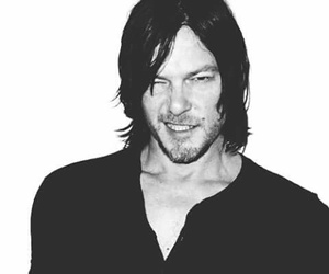 man, norman reedus, and smile image