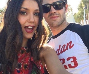 Nina Dobrev, tvd, and coachella image