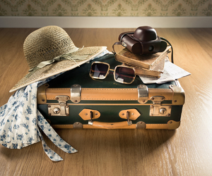 discover, travel, and suitcase image