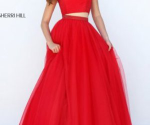 long prom dresses 2016 and two piece dresses 2016 image
