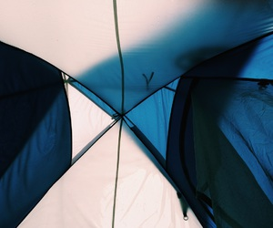 blue, camping, and explore image