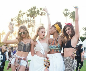 coachella, taylor hill, and model image