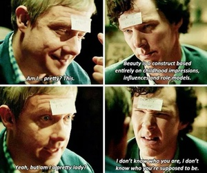drunk, funny, and Martin Freeman image