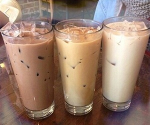 coffee, drink, and brown image