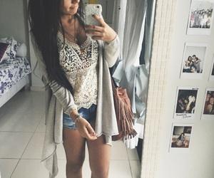 bedroom, bff, and brunette image