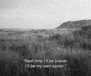 quote, brave, and savior image