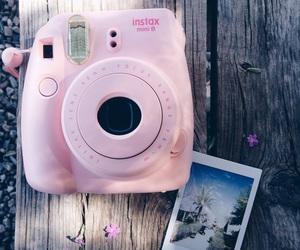 pink, polaroid, and camera image