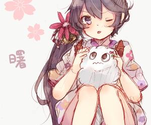 anime, anime girl, and game image