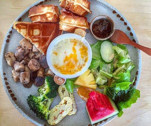 breakfast, brunch, and health image