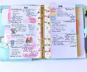 planner, cute planner, and kikki-k image
