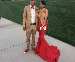 Prom and red image