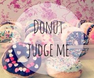donuts, food, and judge image