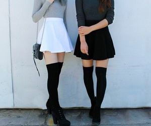 casual, winter, and teen style image