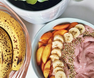 bowl, breakfast, and FRUiTS image