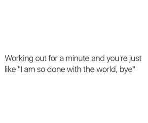 funny, gym, and quotes image