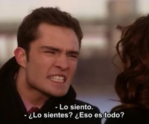 chuck bass, ed westwick, and frases image