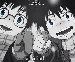 ao no exorcist, anime, and rin image