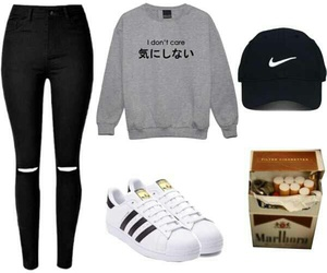 adidas and Polyvore image