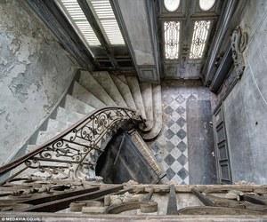 abandoned, manor, and belgium image
