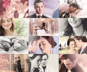 blair waldorf, buck, and chuck and blair image
