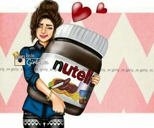 nutella, girly_m, and art image
