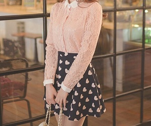 fashion, pink, and skirt image