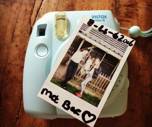 best friends, instax, and mini image