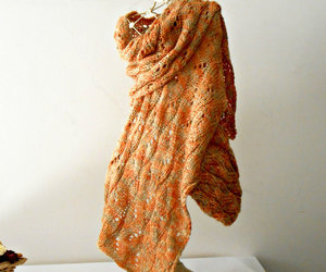 high fashion, knitted shawl, and cosediisa image