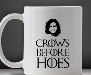 coffee mug, snow, and Jon image
