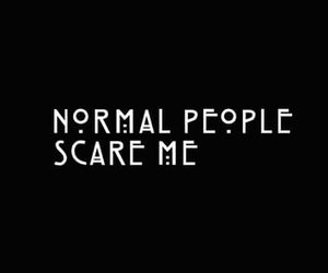 normal, scared, and tate image