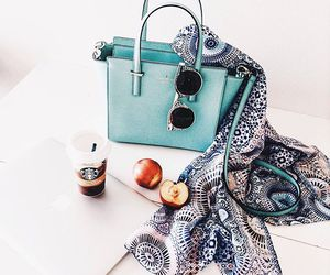 bag, kate spade, and starbucks image