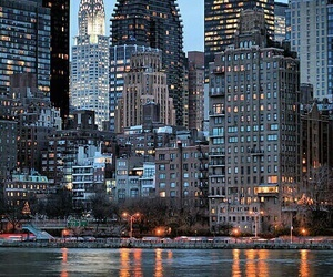 beautiful, ligths, and nyc image