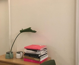aesthetic, books, and leaf image