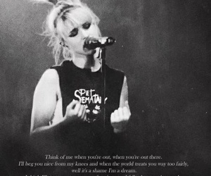 hayley williams, paramore, and all i wanted image
