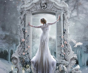 fantasy and white image