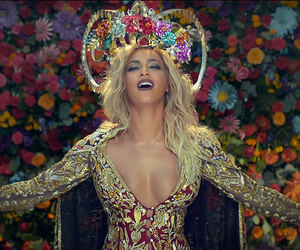 beyoncé, coldplay, and flowers image