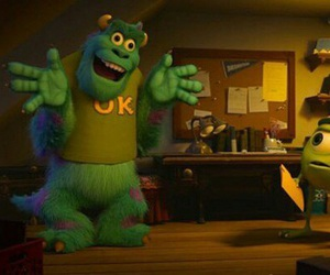 funny, disney, and monsters university image
