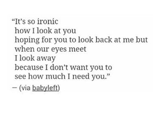 ironic, quotes, and about love image
